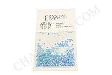 Голубые стразы для дизайна ногтей Crystalized