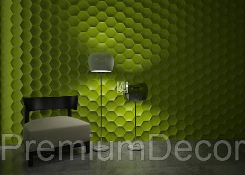 Гипсовые 3Д/3D панели МЕДОК, фото 2
