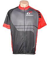 Веломайка Ghost мужская с коротким рукавом black/red год 2014 Размер XL
