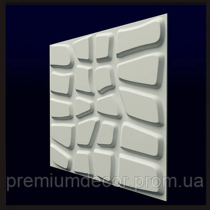 Гипсовые 3Д/3D панели ДАНДИ, фото 2