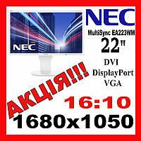 """Мониторы 22"""" Nec MultiSync  EA 223WM 1680x1050 Оптом Гуртом"""