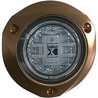 Підводне підсвічування Lumitec SeaBlaze X, бронзовий корпус, колір білий