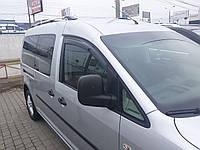 Дефлекторы окон (ветровики)   VW Caddy  2004->CK  2шт (Hic)