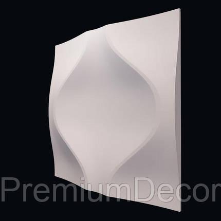 Гипсовые 3Д/3D панели МЯГКИЙ РОМБ, фото 2