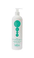 Глубокоочищающий шампунь для жирных волос и кожи головы Kallos KJMN Shampoo Deep Cleansing ,500 мл