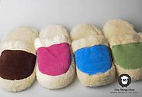 Чуни домашние, чуни из овечьей шерсти, комнатные тапочки, фото 1