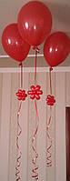 """Гелиевые шары с """"декором"""" ромашки"""