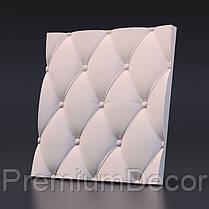 Гипсовые 3Д/3D панели КОЖА, фото 2
