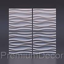 Гипсовые 3Д/3D панели ВОЛНА АТЛАНТИКА, фото 2