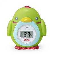 Детский цифровой термометр «Птичка» для ванной и комнаты ТМ Bibi 114619