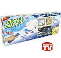 Мастер стекол Glass Wizard –щетка для мытья стекол и зеркал Глас Визард, фото 1