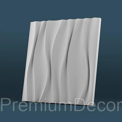 Гипсовые 3Д/3D панели ВОДОПАД, фото 2
