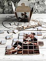 Черный шоколадный набор с фото «Хеппи Пазл 48 шк » , фото 1
