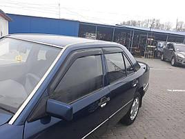 Дефлекторы окон (ветровики) Mercedes E-klasse 124 1985-1996 Sedan 4шт (HIC)