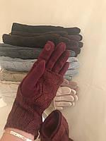 Перчатки трикотаж, двойные. Вязка снимается!, фото 1