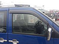 Дефлекторы окон (ветровики) клеющие / накладные Д/о Mercedes Vito 638 1995-2003 (ck) 2шт (ANV-AIR)