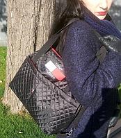 Сумка женская стеганная, женская сумка, сумка из ткани, сумка женская стеганая Tommy hilfiger копия