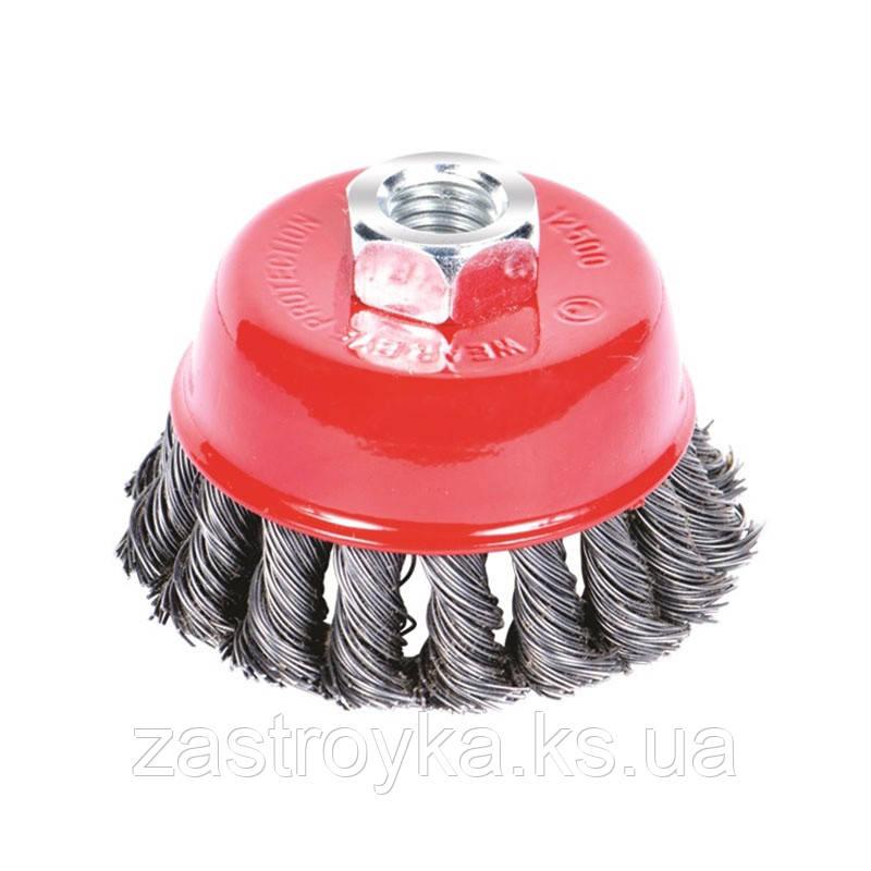 Щітка сталева чашевидних (для КШМ, Ø22.2мм) Ø100мм