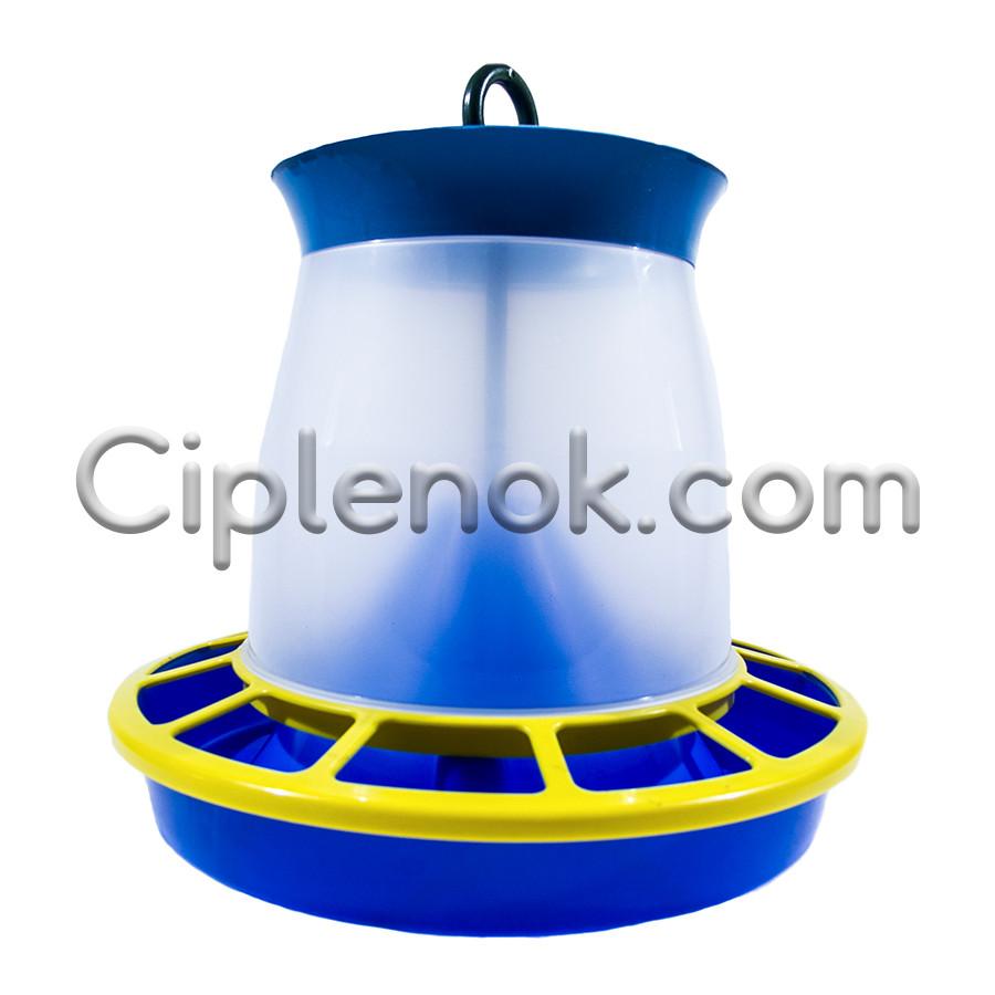 Бункерная кормушка на 4,1 л / 2,8 кг для кур, уток, гусей, индюков, перепелов
