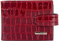 Женская визитница KARYA (КАРИЯ) SHI054-08, кожаная, красный