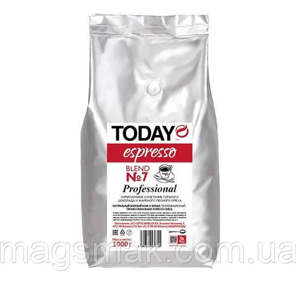Кофе Today Blend №7 1 кг в зернах