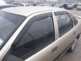 Дефлекторы окон (ветровики)  Opel Vectra A 1988-1995 4/5D  4шт (Hic)