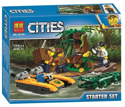 """Конструктор """"Cities"""" 106 деталей, фото 2"""