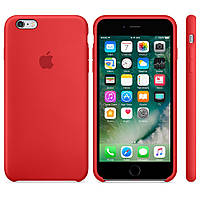 Apple Silicon Case for iPhone 6/6S Red, фото 2
