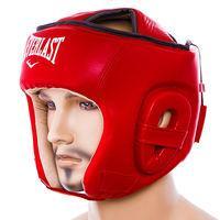 Шлем Ever, открытый, DX, размер S, M, L, красный