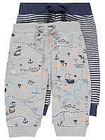 """Детские штаны George """"Морские сокровища"""" для мальчика, набор 2 шт, размер 86 см"""