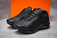 Зимние кроссовки на меху в стиле Nike Tn Air, черные (30321),  [  43 46  ]