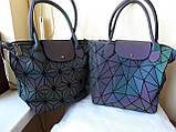 Женская сумка Bao Bao Issey Milyake (Бао Бао) хамелеон геометрия рюкзак, фото 3