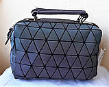 Женская сумка Bao Bao Issey Milyake (Бао Бао) хамелеон геометрия рюкзак, фото 6