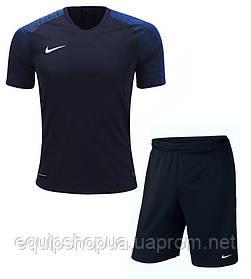 Футбольная форма игровая Nike (Тёмно синяя)