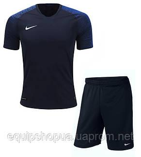 Футбольная форма игровая Nike (Тёмно синяя), фото 2