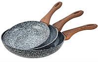 Набор гранитных сковородок KingHoff KH 1030 , фото 1