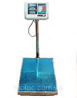 Электронные торговые весы 150 кг, товарные платформа, до 150 кг