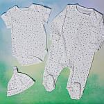 """Детский комплект из трех предметов  """"Звездочки"""", фото 2"""