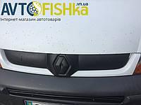 Зимова решітка. Захист радіатора / Зимняя решетка. Защита радиатора Renault Kangoo 2008-2013 (верх) (матовая)