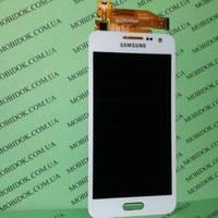 Модуль Samsung J320H/DS Galaxy J3 (2016)   белый TFT (стекло, экран, дисплей)