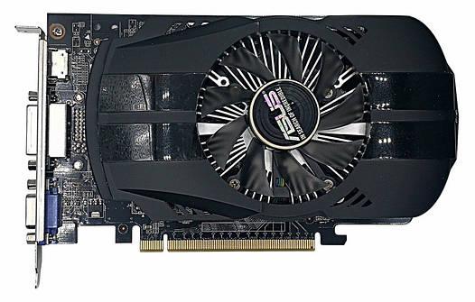 ASUS  GeForce GTX750   2Gb DDR5 Б/У   Полностью рабочая!