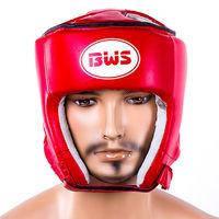 Шлем защитный BWS, размер S красный, DX450