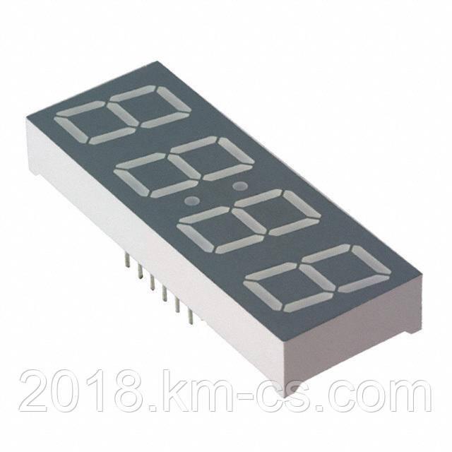 Индикатор светодиодный 7-сегментный A284CE-12