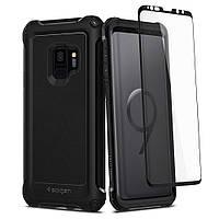 Чехол Spigen для Samsung S9 Pro Guard, Black, фото 1