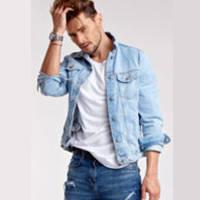 Джинсовые куртки мужские