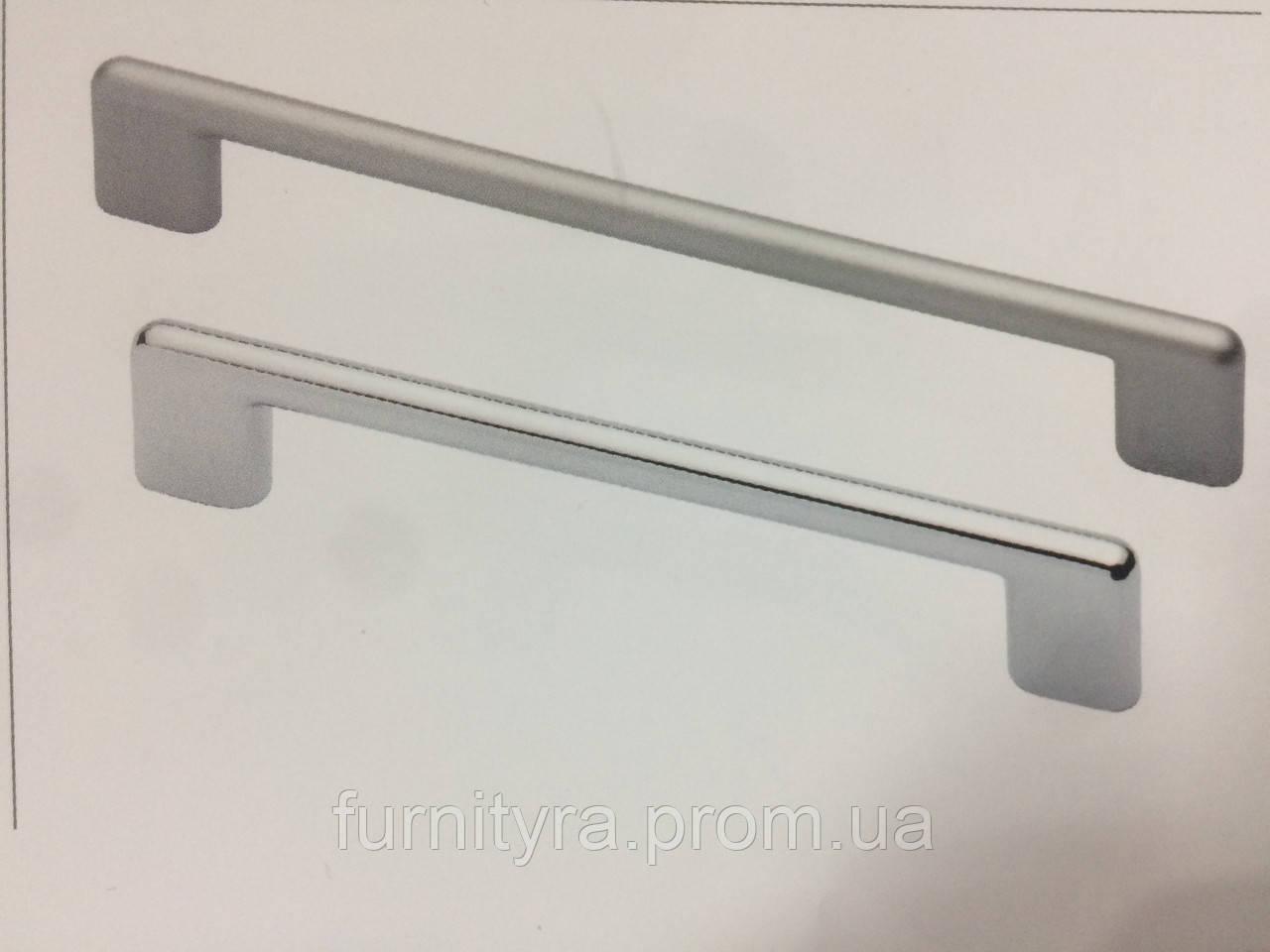 Ручка 128mm LUNA Хром