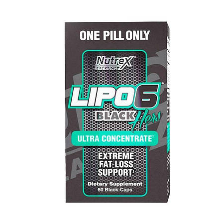 Nutrex Lipo 6 Black Hers Ultra Concentrated 60 капс