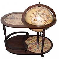 Jufeng Глобус-бар напольный со столиком «Поднебесный»