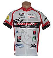 Веломайка Ghost Factory Racing мужская с коротким рукавом Размер L