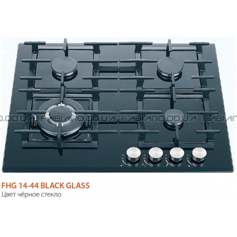 Газовая поверхность Fabiano FHG 14-44 VGH-T Black Glass